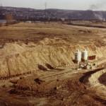 Rheinhafen, Erdarbeiten1962